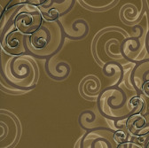 HMY57515 Harmony Moss Geo Medallion Wallpaper