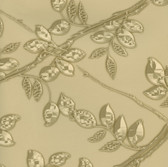 HMY57535 Harmony Gold Metal Leaf Wallpaper