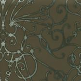 HMY57618 Harmony Mocha Larosa Wallpaper