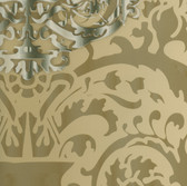HMY57635 Harmony Olive Sugdin Damask Wallpaper