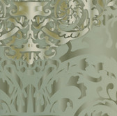 HMY57636 Harmony Sage Sugdin Damask Wallpaper