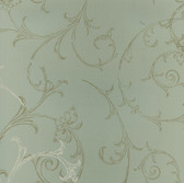 HMY57654 Harmony Sage Swirl Wallpaper
