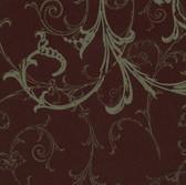 HMY57655 Harmony Burgundy Swirl Wallpaper