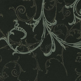 HMY57657 Harmony Black Swirl Wallpaper