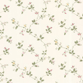 Dollhouse VIII 487-68824 Veronica Pink Trail wallpaper