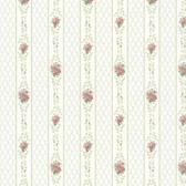 Dollhouse VIII 487-68834 Jaynie Green Trellis Stripe wallpaper