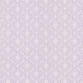 Dollhouse VIII 487-68841 Bella Purple Damask wallpaper