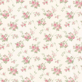Dollhouse VIII 487-68845 Isabella Pink Rose Trail wallpaper