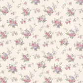 Dollhouse VIII 487-68848 Isabella Purple Rose Trail wallpaper