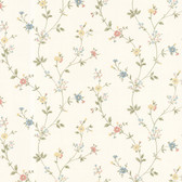 Dollhouse VIII 487-68861 Deanna Blue Trail wallpaper
