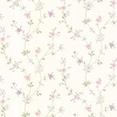 Dollhouse VIII 487-68862 Deanna Lavender Trail wallpaper
