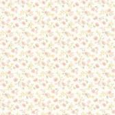 Dollhouse VIII 487-68865 Lizabeth Orange Allover Floral wallpaper