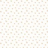 Dollhouse VIII 487-68871 Elyse Peach Mini Toss wallpaper