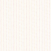 Dollhouse VIII 487-68875 Liza Peach Stripe wallpaper