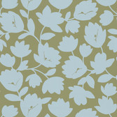 Echo Design 566-43944 Freesia Beige Fun Floral wallpaper