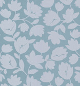 Echo Design 566-43945 Freesia Light Grey Fun Floral wallpaper