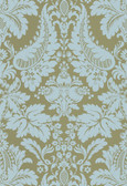 Echo Design 566-43947 Lopeka Taupe Modern Damask wallpaper