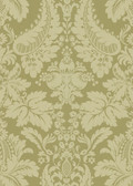 Echo Design 566-43951 Lopeka Light Brown Modern Damask wallpaper