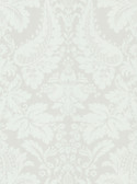 Echo Design 566-43952 Lopeka White Modern Damask wallpaper