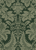 Echo Design 566-43953 Lopeka Brown Modern Damask wallpaper
