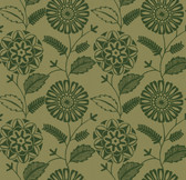 Echo Design 566-43955 Resort Brown Modern Floral wallpaper