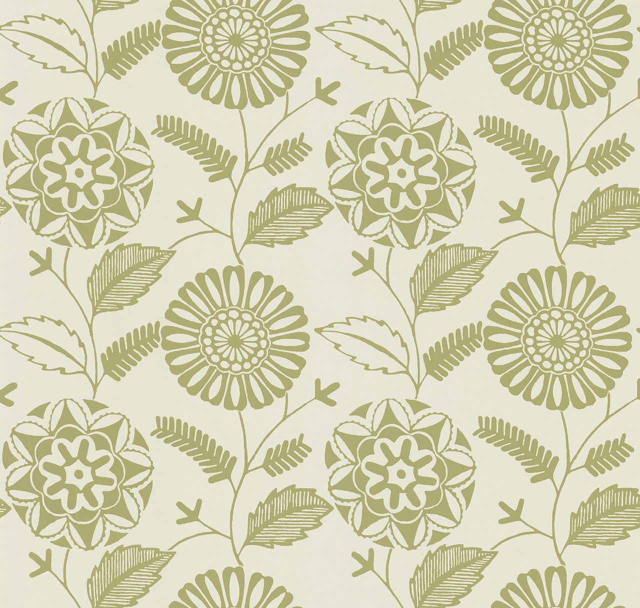 566 43957 Resort Beige Modern Floral Wallpaper Indoorwallpaper Com