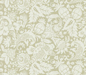 Echo Design 566-43963 Bali Beige Scrolling Pattern wallpaper