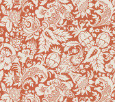 Echo Design 566-43965 Bali Orange Scrolling Pattern wallpaper