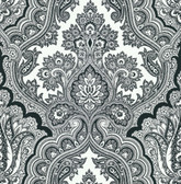 Echo Design 566-43974 Isla White Paisley wallpaper