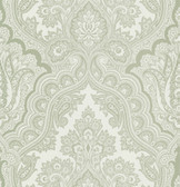 Echo Design 566-43975 Isla Light Grey Paisley wallpaper