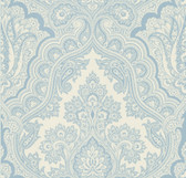 Echo Design 566-43977 Isla Blue Paisley wallpaper