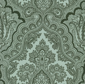 Echo Design 566-43978 Isla Sage Paisley wallpaper