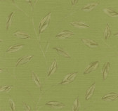 Echo Design 566-43987 Elspeth Green Metallic Leaf wallpaper