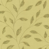 Echo Design 566-43991 Elspeth Light Green Metallic Leaf wallpaper