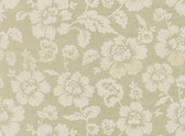 Echo Design 566-44500 Bliss Cream Grasscloth Floral wallpaper