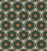 Echo Design 566-44903 Flower Power Peach Retro Floral wallpaper
