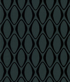Echo Design 566-44911 Eclipse Black Diamond Geometric wallpaper