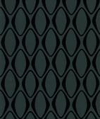 Echo Design 566-44911 Eclipse Black Diamond Geometric wallpaper