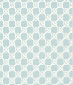 Echo Design 566-44914 Lattice Light Blue Trellis wallpaper