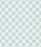 Echo Design 566-44914 Lattice Light Blue Trellis wallpaper
