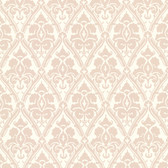 566-44922 Liesel Taupe Damask wallpaper