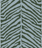 566-44928 Tailored Zebra Blue Herringbone Zebra wallpaper
