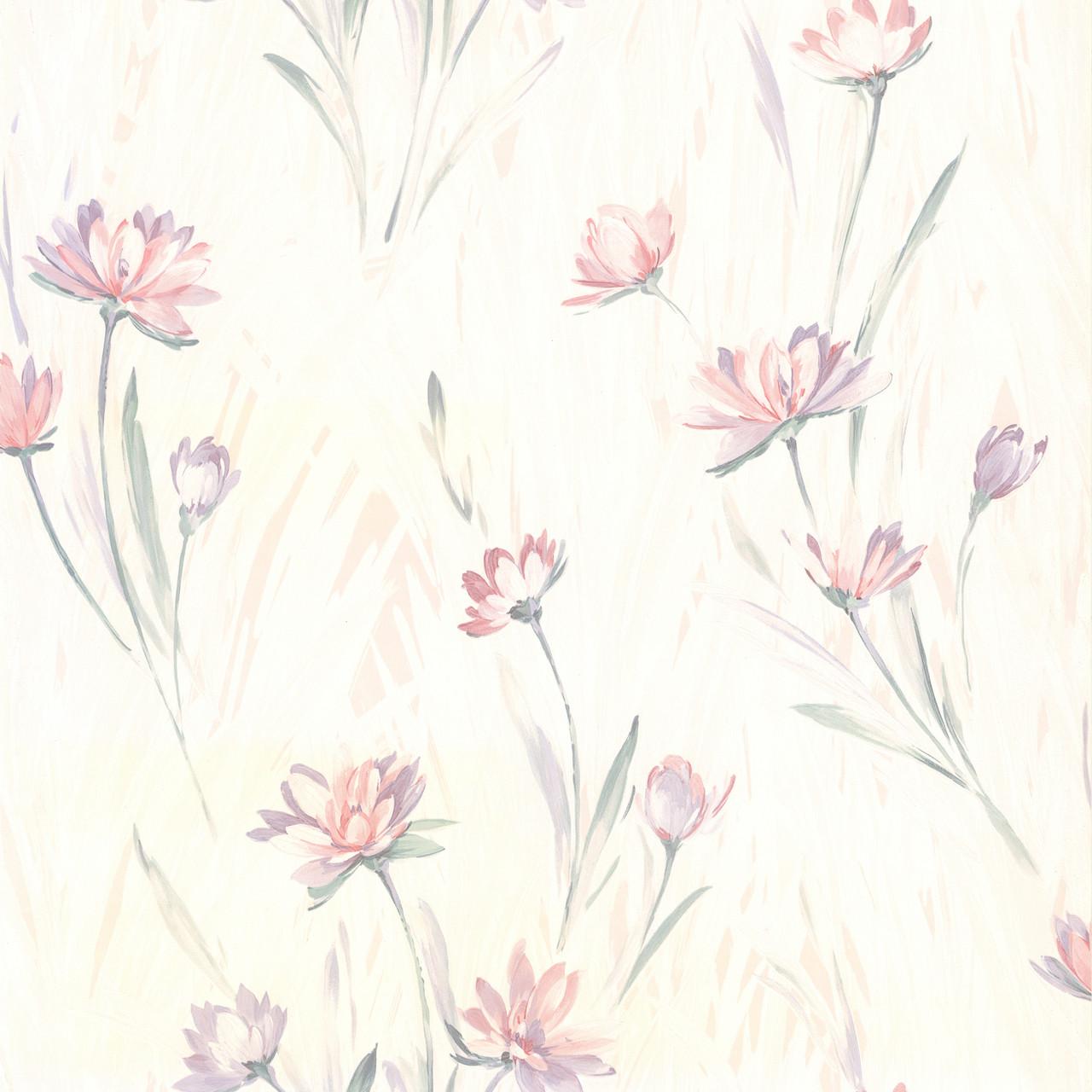 436 37400 Veldt Lavender Chic Floral Wallpaper Indoorwallpaper Com