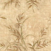436-42702 - Kazumi Taupe Bamboo Texture wallpaper