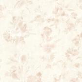 436-54513 - Violetta Peach Satin Floral wallpaper