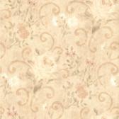 436-54570 - Uma Beige Floral Scroll wallpaper