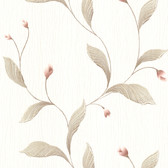 436-5675 - Ixia Taupe Lily Trail wallpaper