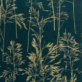 436-65518 - August Dark Green Botanical Silhouette wallpaper