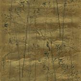 436-65519 - August Gold Botanical Silhouette wallpaper
