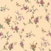 436-65756 - Heidi Purple Floral Trail wallpaper